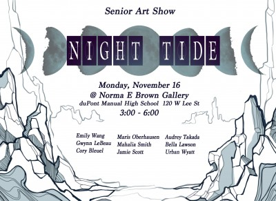 Night Tide Senior Art Show