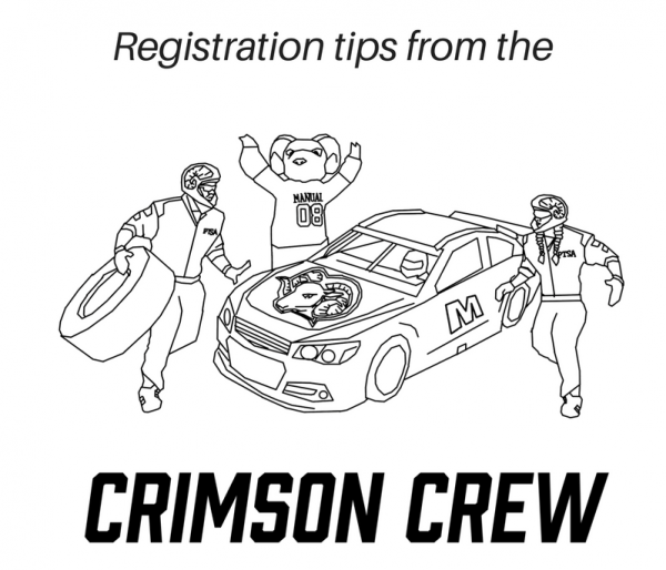Crimson Crew Registration Tips