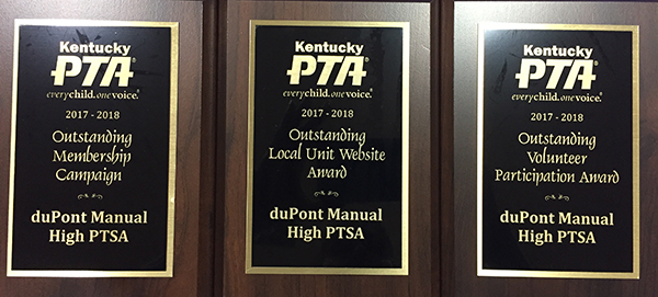PTSA Honored With Awards At Kentucky PTA Convention