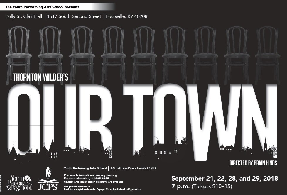 "Preview of YPAS 40th Anniversary Season on Wave3 – ""Our Town"" opens Friday"