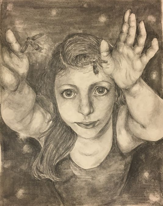 Freshman wins statewide Award of Excellence for visual arts