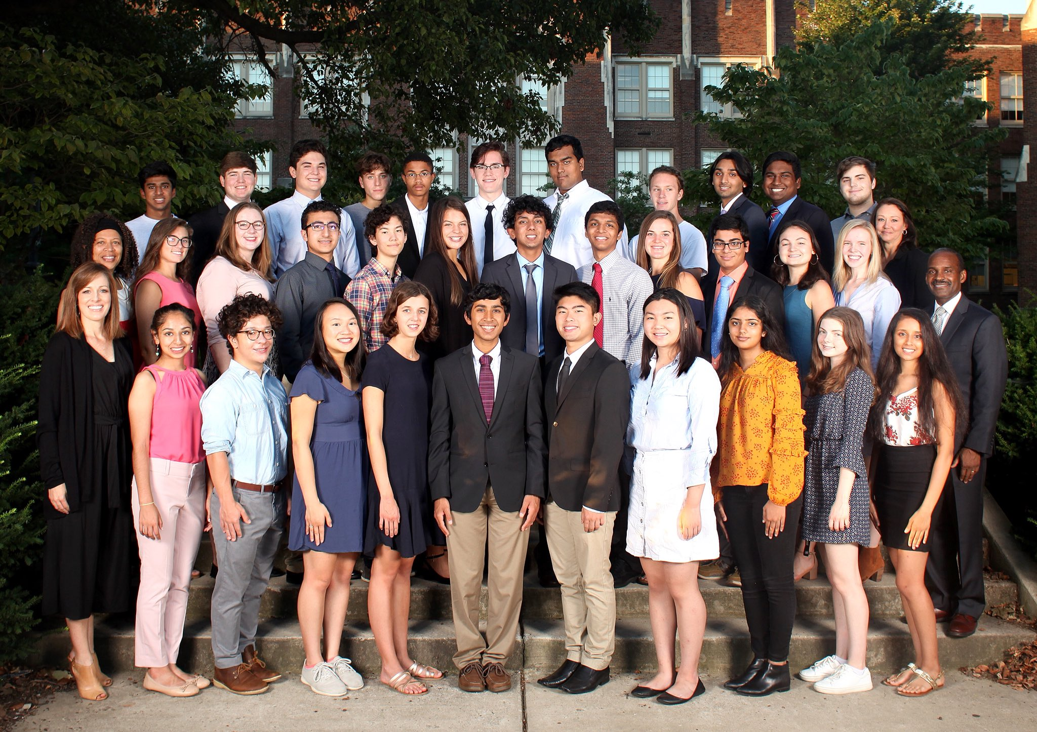 Congratulations to our 2019 National Merit Semi-Finalists