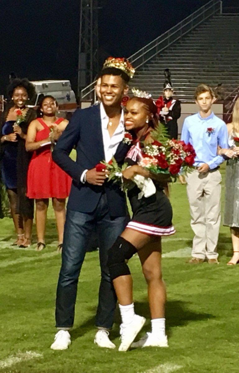 2018 Homecoming Queen Edison Pleasants and King Sean Waddell