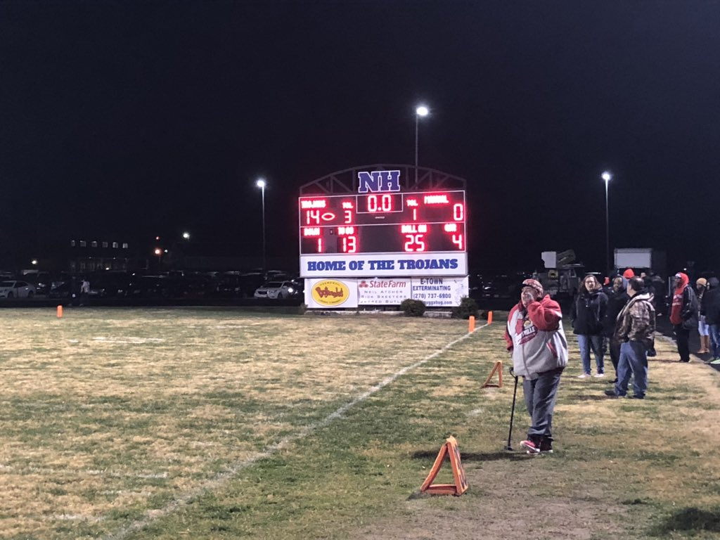 RedEye: North Hardin Trojans end Manual's football season in playoffs