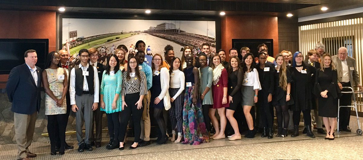 3 Manual students selected as 2018 Churchill Downs Winner's Circle Governor's Scholars