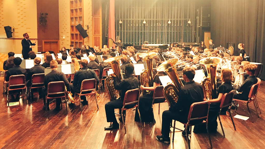 Many YPAS students selected to JCPS All-County Bands and Full Orchestra