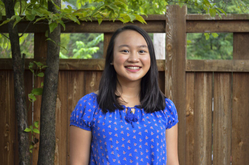 Senior Allison Tu receives 2019 Vogt Educational Leadership Scholarship