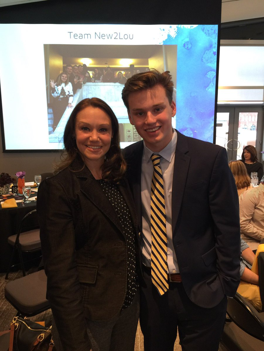 Junior Max Ackerson honored by the Louisville Youth Philanthropy Council