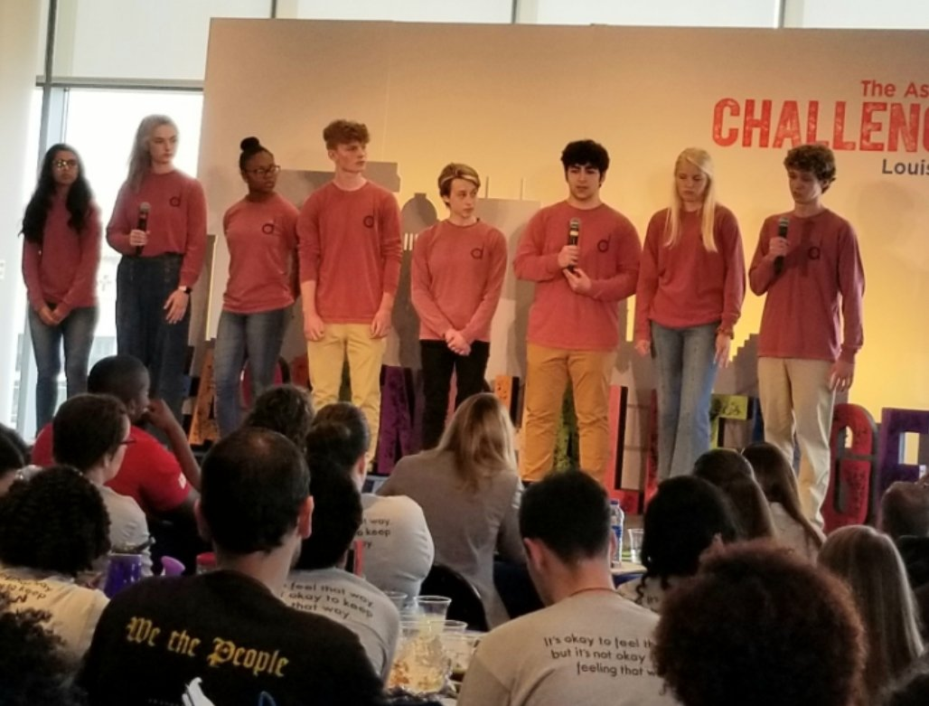 Driversity team finalists in the inaugural JCPS Aspen Challenge competition