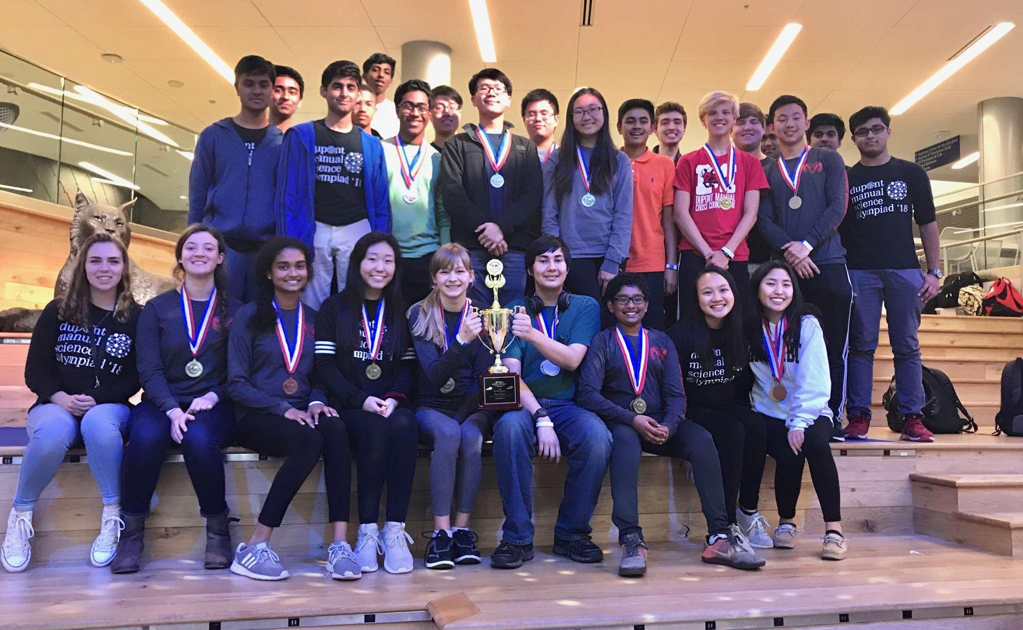 Manual Science Olympiad wins state, moves onto nationals