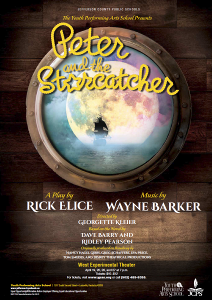 Peter and the Starcatcher selling out! Tickets available April 19/20/26/27